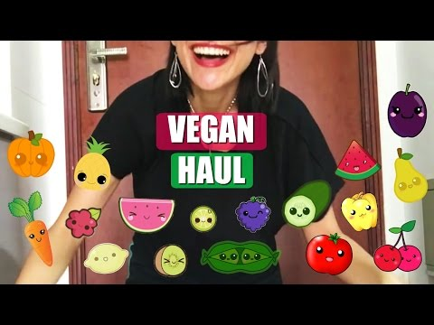 VEGAN HAUL - ORGANIC VEGAN IN CHINA PRODUCE