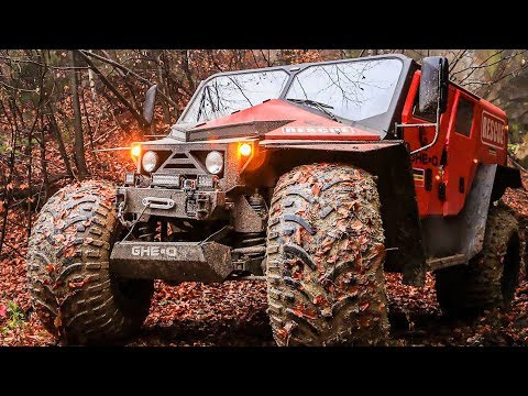 10 Extreme Off-Road Vehicles You Won\'t Believe Ever Existed!