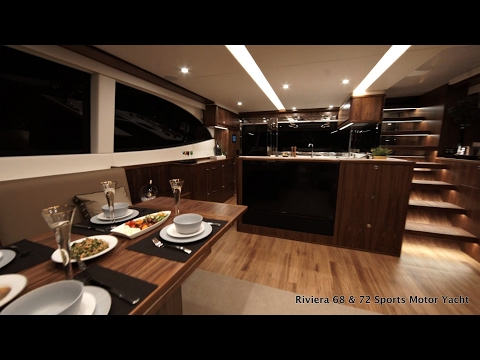 First Look Inside the Riviera 68 & 72 Sports Motor Yacht