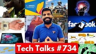 Tech Talks #734 - PUBG Lite Update, Vivo V15 Pro, Zenfone 6, Skype Blur, Tokyo Olympics, Android Q