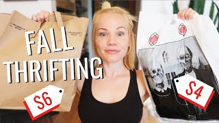 I Went Thrifting For Fall Trends! (and didn't totally fail)