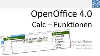Calc # 5 - Funktionen - Generelles zur Eingabe, Korrektur und Hilfe