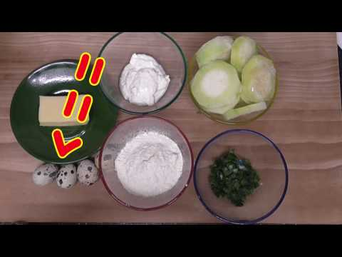 Оладьи из кабачков - 15 пошаговых рецептов с фото