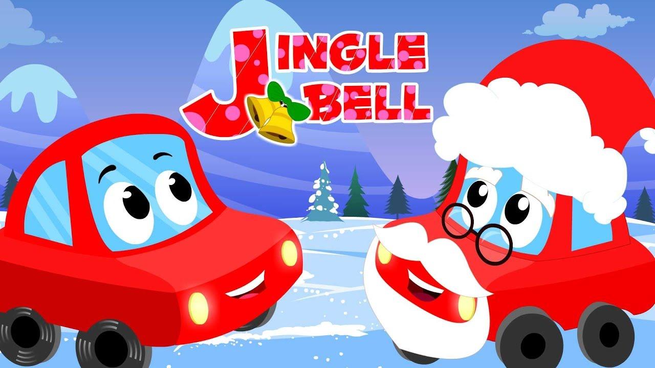 little red car jingle bells merry christmas car songs for children