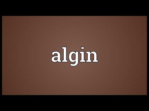 Header of algin
