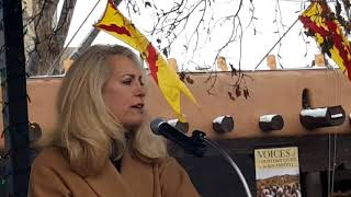 2018 Santa Fe New Mexico Women's March - Author Valerie Plame Wilson