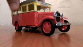 Обзор модели автобуса ''ГАЗ 03-30'' и модели''ЗИС 101А'' в масштабе 1:43