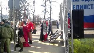 Выступает Ярославна Макарова, ученица 33 школы