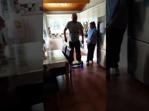 Grown men shouldn't  go on hover boards 😂😂😂😂