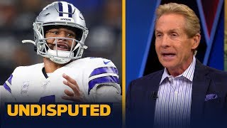 Dak Prescott being called inaccurate is 'erroneously unfair' — Skip Bayless | NFL | UNDISPUTED