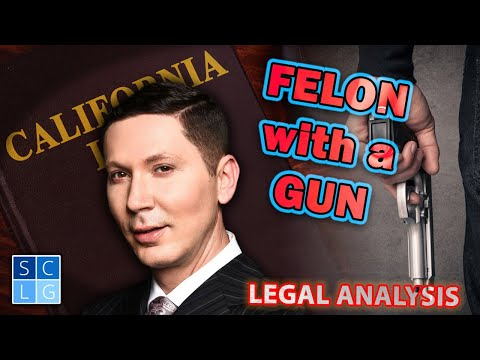 Felon with a Gun | CA Penal Code 29800 PC