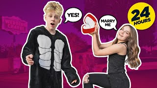 Saying YES To Everything My Crush Says For 24 HOURS *FUNNY CHALLENGE*💋💖| Lev Cameron @Piper Rockelle