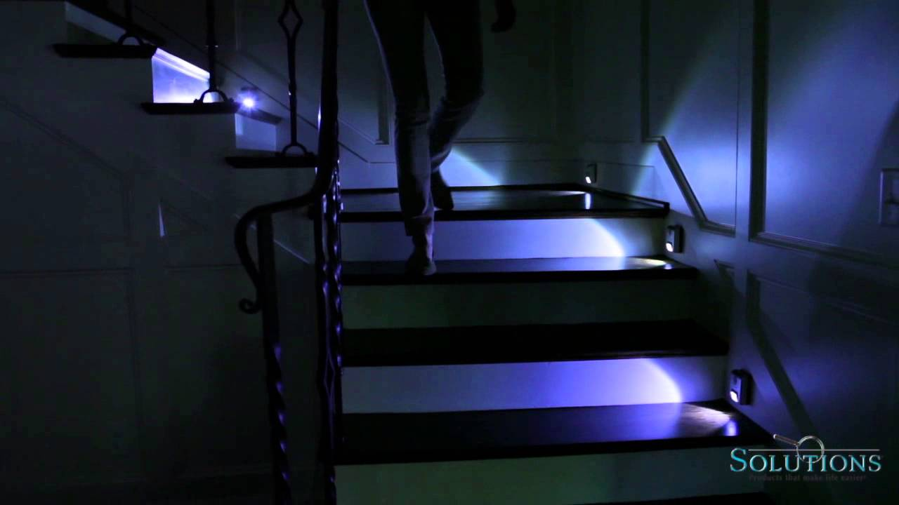 Battery Powered Indoor Motion Sensor Light | Solutions.com - YouTube
