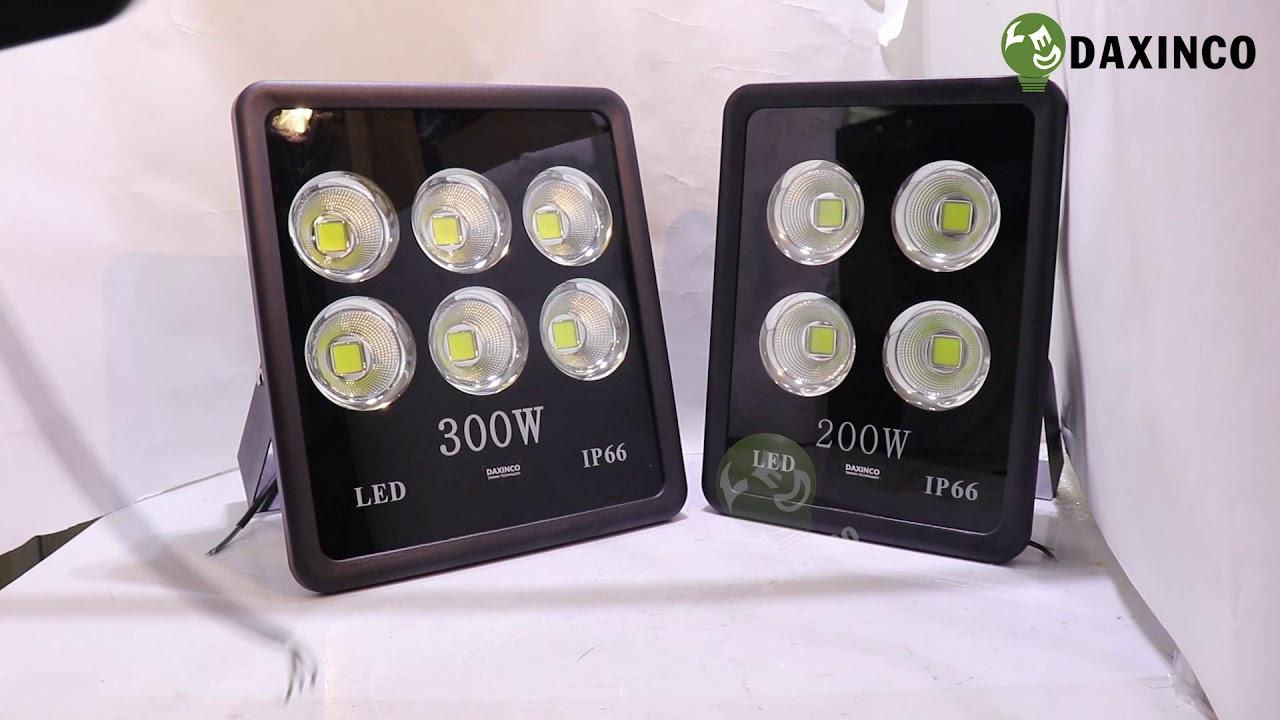 [Sp thật tế] Đèn pha led 300W 200W 150W -6  chiếu xa
