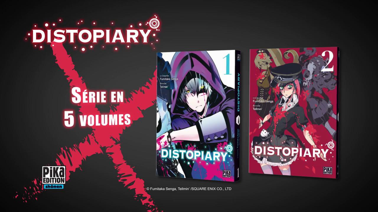 Distopiary, le trailer du manga