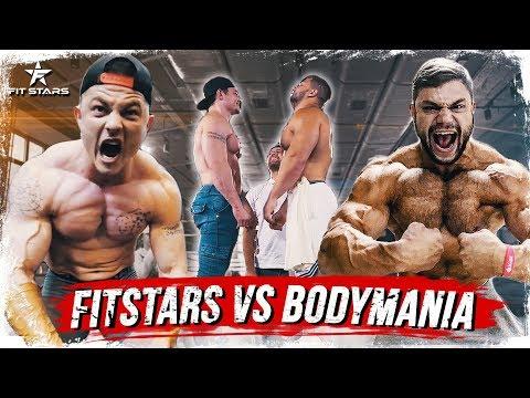 FITSTARS VS BODYMANIA!