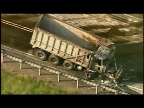 Raw Chopper 11 over scene of fatal Rt 422 accident