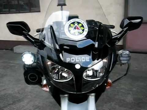 yamaha fjr 1300cc police motorcycle youtube. Black Bedroom Furniture Sets. Home Design Ideas