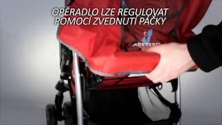 Детская коляска CARETERO Monaco - обучающее видео, инструкция(Детская прогулочная коляска Caretero Monaco легкая и удобная, элементарно складывается одной рукой и выполнена..., 2014-08-09T20:14:35.000Z)