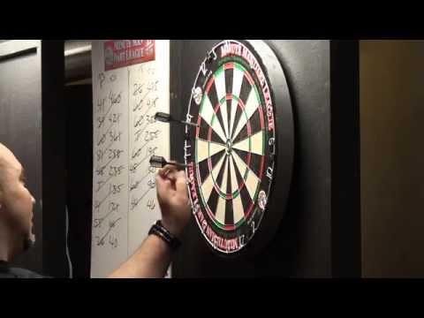 Minute Man Dart League 501 Singles Championship Silver Division