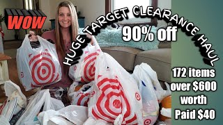 HUMONGOUS Target Clearance Haul❣172 items for $40/Retail $600!!!