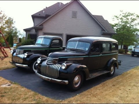 1946 Chevrolet Suburban Carryall - YouTube