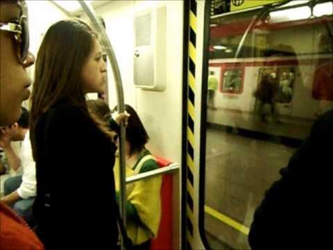 Viajar en el metro de Santiago