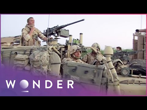Soldier Breaks Down