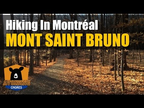 Mont Saint Bruno - Hiking In Montreal