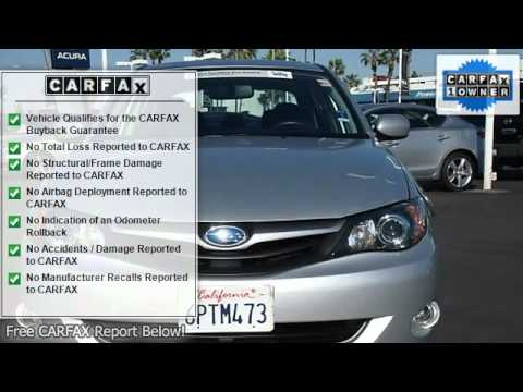 South Coast Subaru >> 2010 Subaru Impreza Sedan South Coast Subaru Costa Mesa Ca 92626