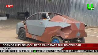 18-Yr-Old BECE Graduate Builds Own Car