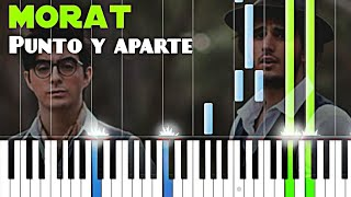 Morat - Punto y aparte | Piano Tutorial Cover