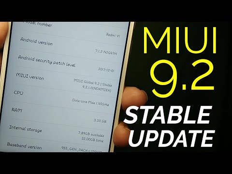 Miui 9.2 Stable Update Rolling Out | Features Explained | Hindi - हिंदी
