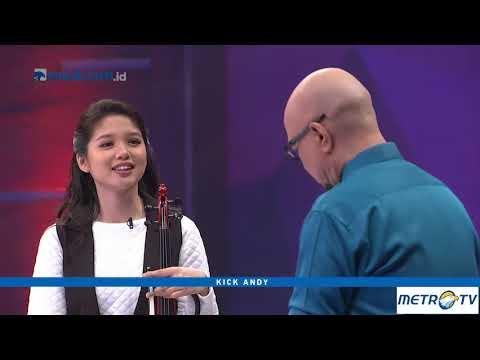 Kick Andy - Cerita Clarissa Tamara Pecahkan Rekor Pemain Biola Tercepat