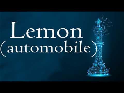 Lemon (automobile)