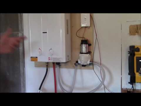 Off Grid Hot Water On Demand  | Our Set Up