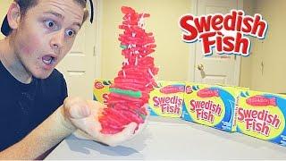 100 layers of swedish fish