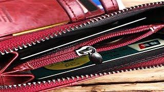 Cheap Genuine Leather Women Wallet