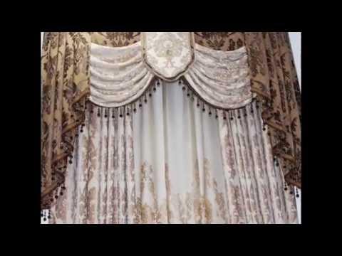 Curtain valances by droppingtimber.com