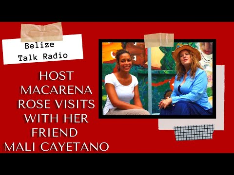 Belize Talk Radio meets with Mali Cayetano Part 1