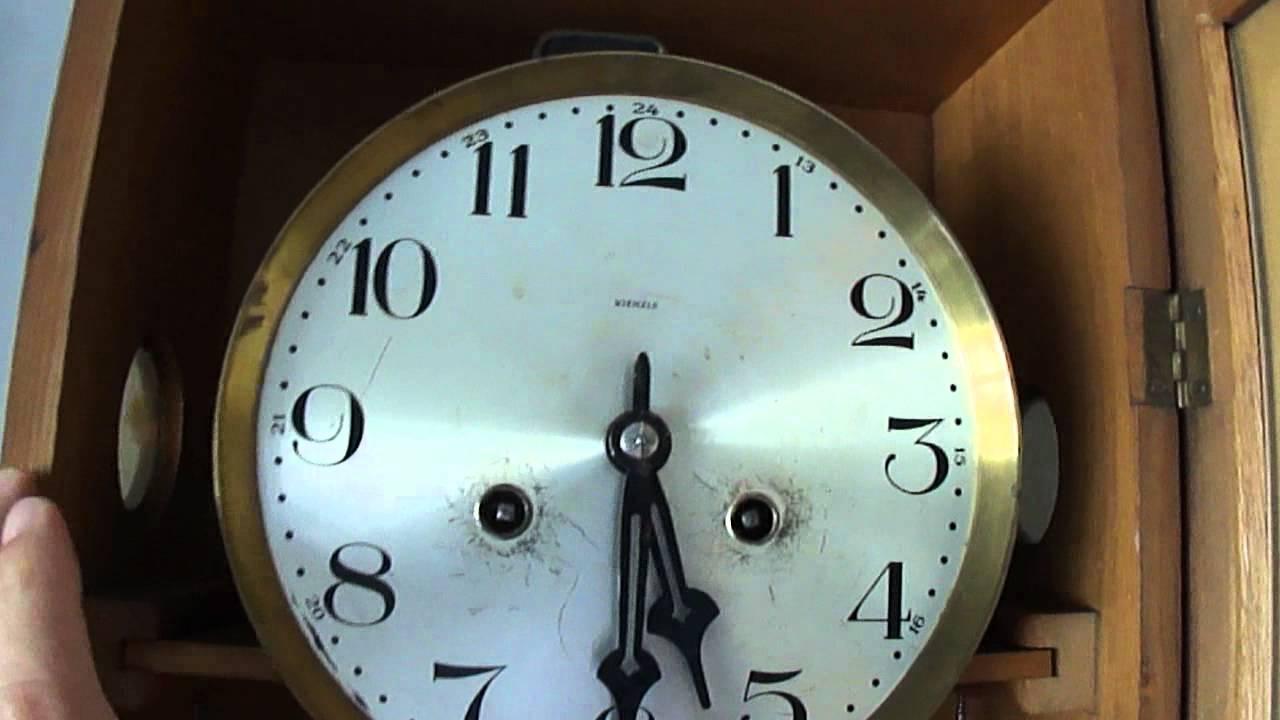 8f882342a0b Raridade!!! Antigo Relógio de Parede Kienzle - Bohemia Bim-Bam - YouTube
