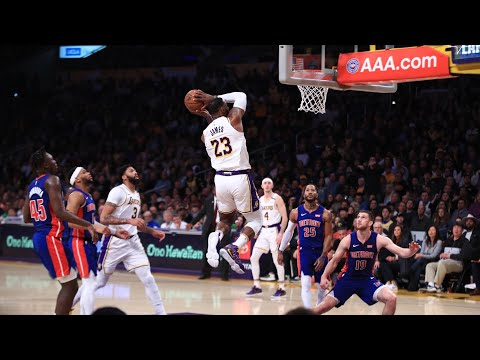Lebron James Game Highlights | Pistons Vs Lakers 1.5.2020