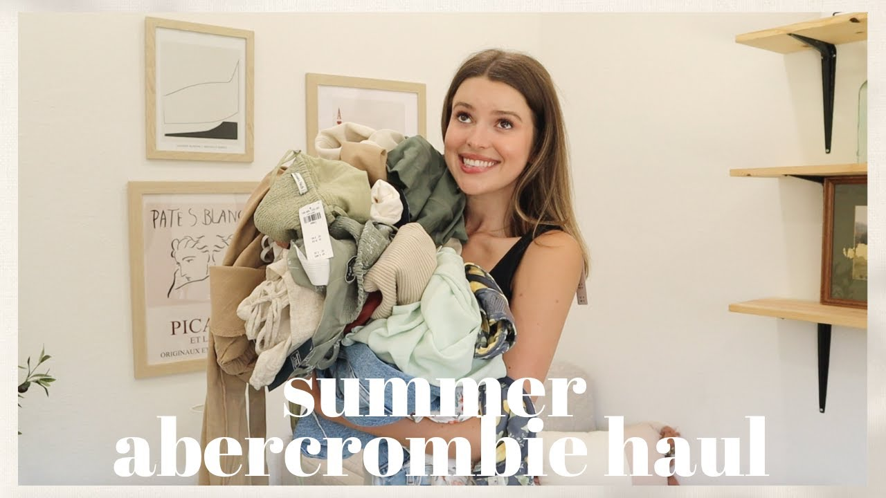 Download Another Abercrombie Haul?! TESTING THE HYPE | Swim, Athleisure, Summer Dresses, Jeans + MORE