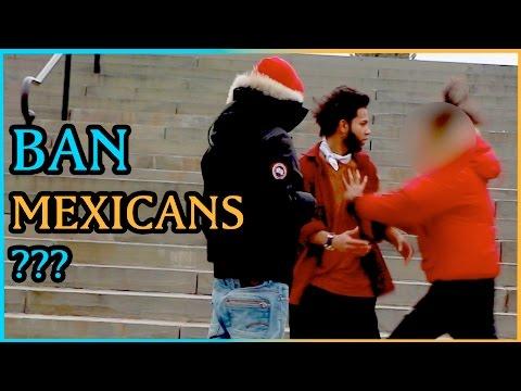 BAN MEXICANS Experiment (Social Experiment)
