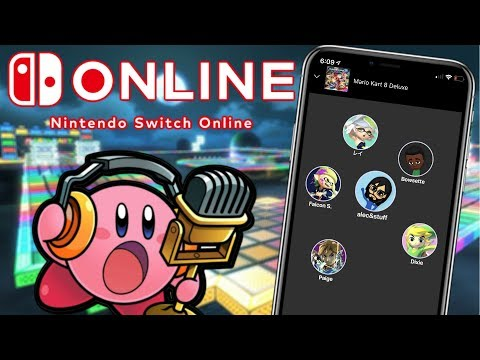 Trying Out Voice Chat With STRANGERS! (Nintendo Switch Online)