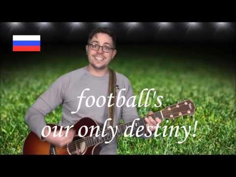 "Slovensko 2018 Rusija futbal song contest live: ♫""Rusija prichádzame"" soccer fan anthem"