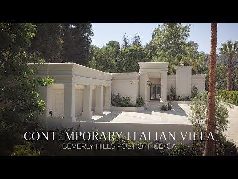 Contemporary Italian Villa in Beverly Hills Post Office