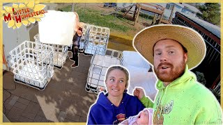 Aquaponic Tanks, Trip to Oatman & Baby spots Mobile @20:37!  | Weekly Peek Ep223
