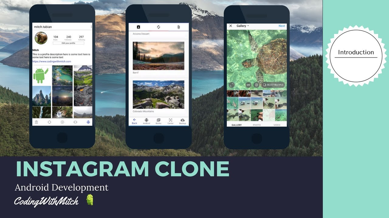 Introduction To Android Instagram Clone App Build An Instagram Clone Youtube