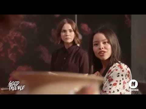 Good Trouble  promos The Fosters spinoff w Maia Mitchell & Cierra Ramirez